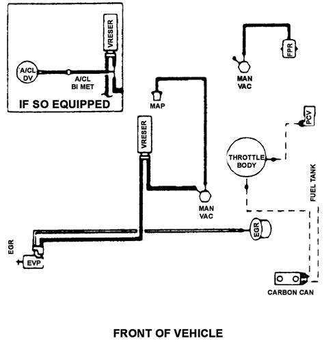 Vaccum Hose Diagram For Ford Ranger Needed Fixya