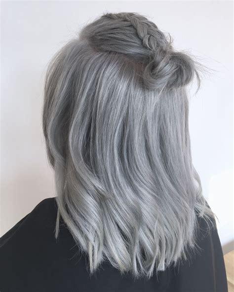 The 25 Best Silver Grey Hair Ideas On Pinterest Silver
