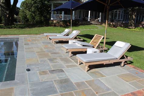 blue pool patio modern patio new york by