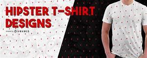 Free Tee Shirt Design Hipster Pattern T Shirt Design Vector Download
