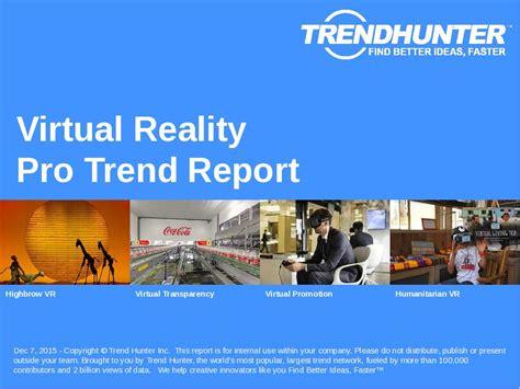 Custom Virtual Reality Trend Report & Custom Virtual Reality Market Research