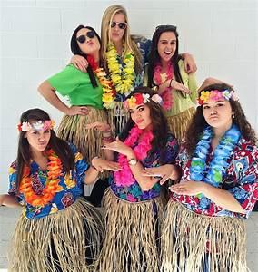Tropical Day #SpiritWeek #Costume #Hawaiian | My Pins | Pinterest | Hawaiian Costumes and Luau