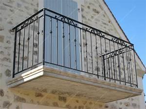 Rambarde Fer Forgé : ides de gardecorps en fer forg saintjustdeclaix galerie ~ Dallasstarsshop.com Idées de Décoration