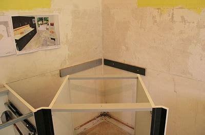 angle plan de travail cuisine installer le meuble d 39 angle