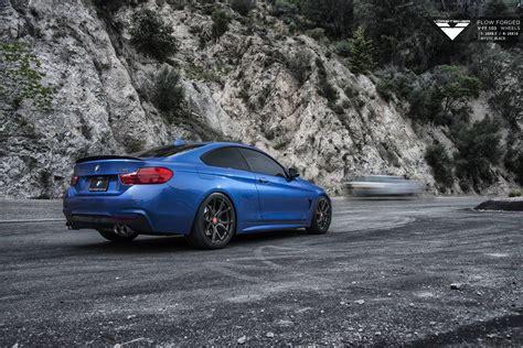 Estoril Blue Bmw 4-series With Carbon Graphite Vorsteiner