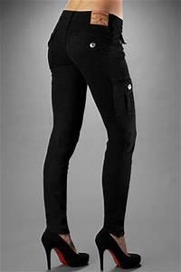 True Religion Women's Krista Super Skinny Cargo Legging ...