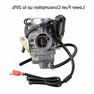 Goofit Pd24j Carburetor For Gy6 150cc Atv Scooter