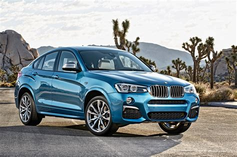 suv bmw 2016 2016 bmw x4 xdrive35i suv blue color autocar pictures