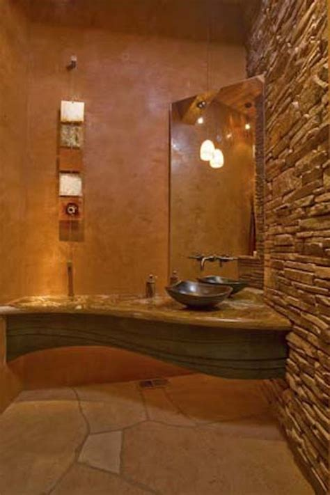 rich southwestern bathroom designs  inspire