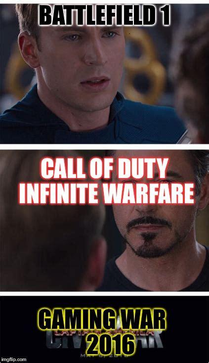 Infinite Warfare Memes - marvel civil war 1 meme imgflip