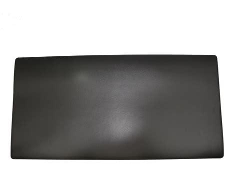 grand sous de bureau en cuir noir 80 cm par 40 cm