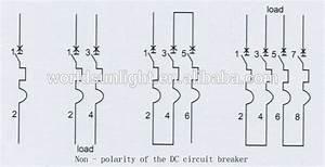 Solar Pv Dc Components - Dc Mini Circuit Breaker - Xl7-63 4p 1000vdc Mcb