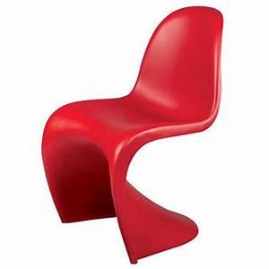 Panton Chair Rot : verner panton dining chair panton s seat design dining chair ~ Markanthonyermac.com Haus und Dekorationen