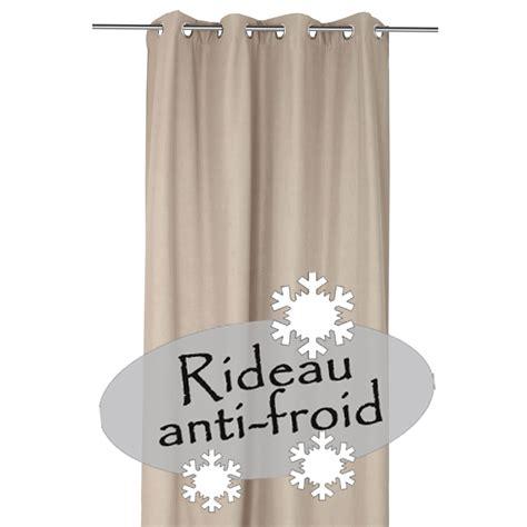 rideau anti froid