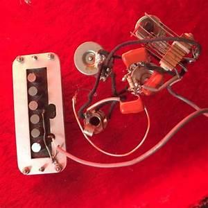 Vintage Original Rickenbacker Toaster Guitar Pickup Wiring