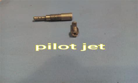 Fungsi Pilot Jet by Komponen Dalaman Karburator Cakap Pomen Motor