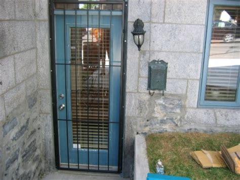 grilles pour portes residentielles securite  domicile