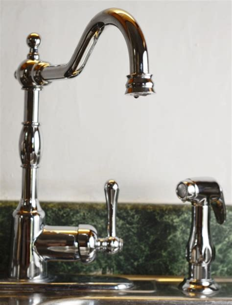 vintage kitchen wall faucets brita faucet filter chlorine