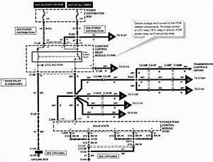 1997 Tbird 4 6l Ecm  U0026 O2 Sensor Wiring