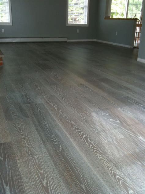 True & Wesson Interior Design Project Gray Hardwood Floors
