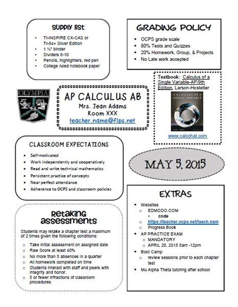 middle school syllabus template best 25 syllabus template ideas on class syllabus und student email and parent pay