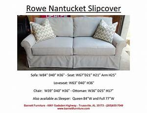 rowe nantucket slipcover 2 cushion sofa you choose the With rowe furniture slipcovers nantucket
