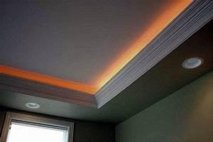 Deck Ceiling Lighting Top 40 Best Crown Molding Lighting Ideas Modern Interior