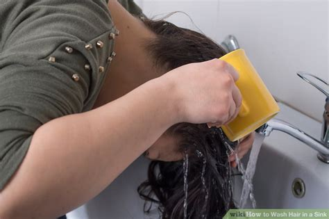 Kitchen Sink Hair Wash by Washing Hair In Sink Sinks Ideas
