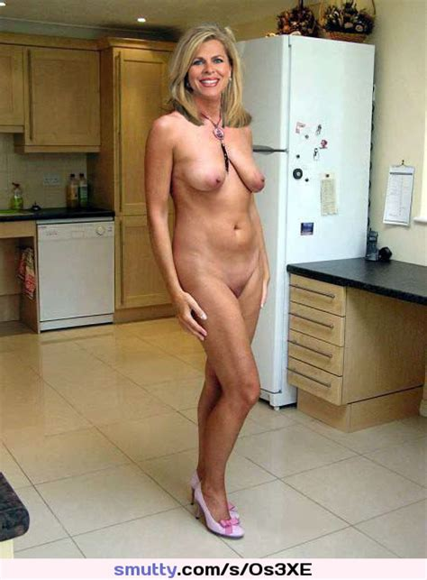 Blonde Milf Mature Cougar Housewife Fullfrontal Naturaltits Nicelegs Highheels