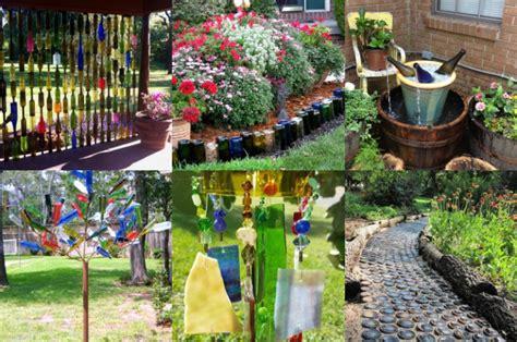 Upcycling Ideen Garten by Tolle Upcycling Ideen Mit Weinflaschen F 252 R Den Garten
