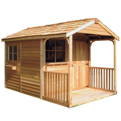 cedarshed common  ft   ft interior dimensions  ft   ft clubhouse gable cedar
