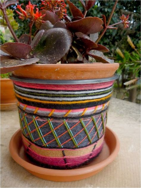 decorating flower pots 21 creative diy s to embelish your boring planters