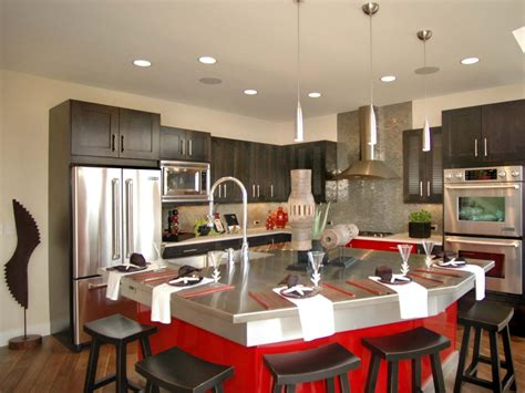 functional kitchen design kitchen island breakfast bar pictures ideas from hgtv 1120
