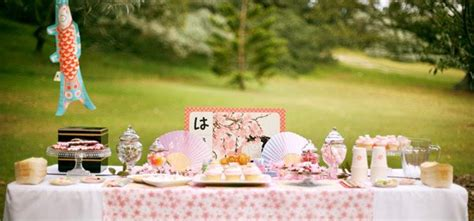 japanese tea party baked  joanna