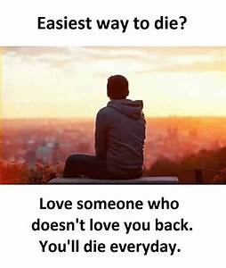 Sad love Quotes Easy way to Die? life and pain Depressed ...