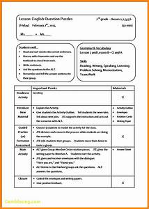 new sample lesson plan template best templates With best templates