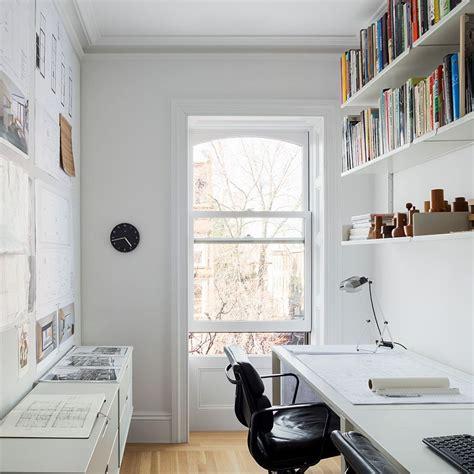 narrow office layout 50 splendid scandinavian home office and workspace designs