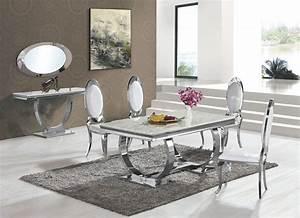 Esstisch Marmor Optik : gloria 1206 chrom silber gold esstisch verschiedene gr en marmor glas holz ~ Frokenaadalensverden.com Haus und Dekorationen