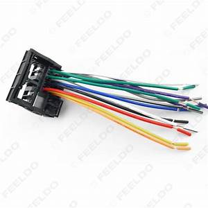 Feeldo Car Accessories Official Store  Car Stereo Head Unit Wiring Harness With Fraka Radio