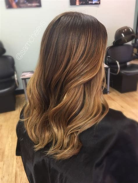 Types Of Brown Color Hair by And Summer Balayage Highlights For Brown And