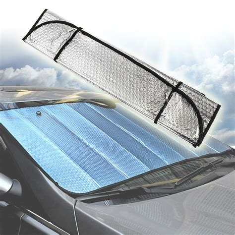 universal reflective car aluminum foil windscreen sunshade