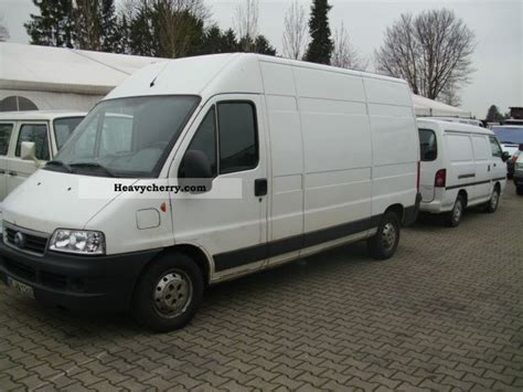 fiat ducato 244 fiat ducato 244 l 2004 box type delivery photo and specs