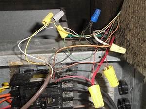 Coleman  Air Handler  Eb15b  Wiring Damage  Fan Relay