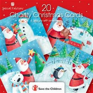 Save The Children Charity Christmas Cards Box of 20 4