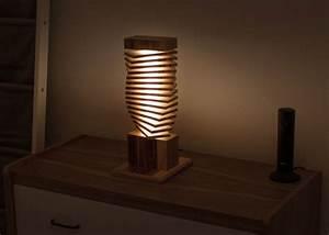 Tischleuchte Selber Basteln : ausgefuxxte lichtideen lampen aus holz ~ Michelbontemps.com Haus und Dekorationen