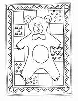 Quilt Coloring Pages Print Coloringpages Drawing Albums Printable Getcolorings Bear Getdrawings sketch template
