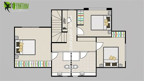 floor plans program 2d floor plan with furuniture landscaping desing by yantram studio