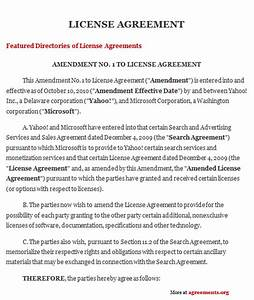 product license agreement template - license agreement sample license agreement template