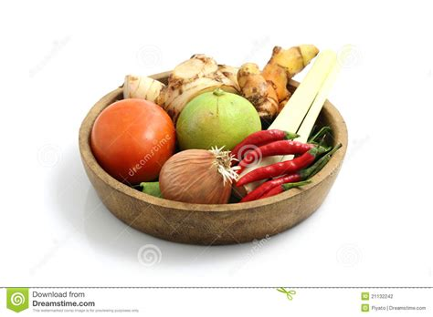 cuisine yum yum food ingredient for tom yum kung stock photo image