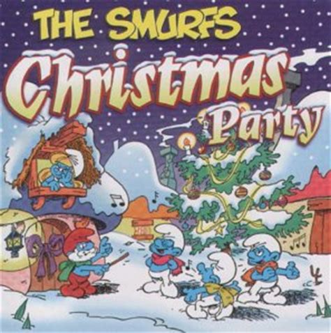 christmas party cd the smurfs co uk